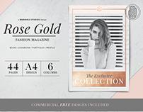 ROSE GOLD Theme | Fashion Magazine