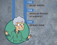 Graphic Designer Betty Willis - Las Vegas Icon