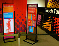 Liberty Science Center's Touch Tunnel Exhibit