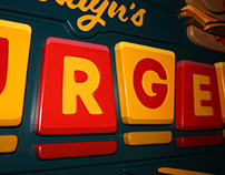 Brooklyn's Burgers Sign