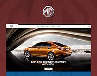 MG (Morris Garages)   Web Design