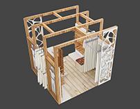 Concept shop - mobile modules