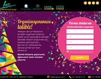 Loco Group - Alcoholoco New Year Landing Page