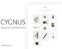 Cygnus - Minimalistic portfolio theme