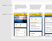 Expedia Flight Search Redesign