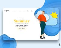 KAPDE | Landing Page Design