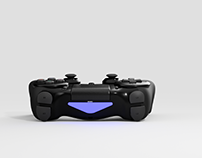 3D Model: PS4 Gaming Console