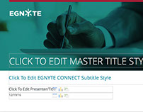 Egnyte Powerpoint Template