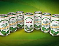 Campaña latas Cerveza Toña