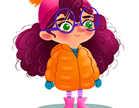 Character Design - Lila e Biba