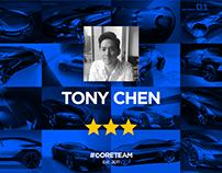 3 | Tony Chen | #CORETEAM
