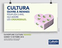 Création visuels / site web - Cultura