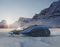 Snowmobile concept 2021