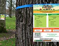 Woodlawn's Inspired Community Garden Flyer