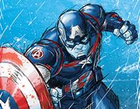 Captain America Molded Foam (Marvel)
