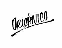 Lettering @oorganico