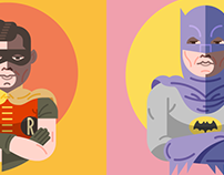 Sixties Batman & Robin