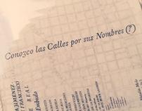 Conozco las calles por sus nombres (?)