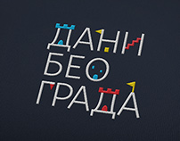 Visual Identity for Days of Belgrade