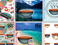 Commemorative Stamps for USA Coffee Lovers