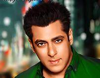 Salman Khan   3d Digital Painting