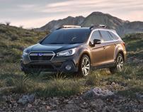 2018 Subaru Outback CGI