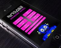 Mobile App design for Howard Jones ENGAGE project