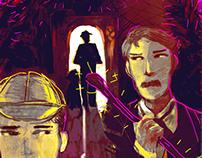 Ilustración, Sherlock Holmes series.