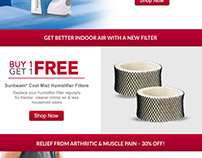 Jarden Consumer Solutions Email Campaigns