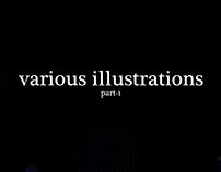 Various Illustrations #1