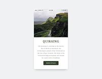 Weekly UI challenge #05 - Quiraing