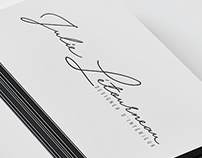 Julie Business card and Logo