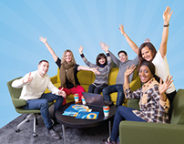 Helsinki Business College ltd. web ad campaign 2015