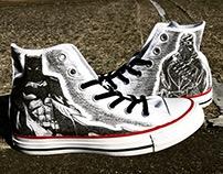 Custom Batman & Court of Owls Converse