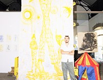 2013 Athens 2nd Circus Festival solo exhibition