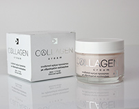 Collagen cream Logo & Packaging