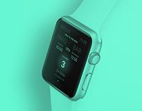 Renfe Smartwatch App Concept