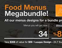 Food Menus Megabundle