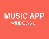 Music App Win 8 | UI Kit