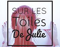 Sur Les Toiles de Julie - Branding