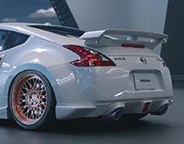 Nissan 370z CGI