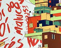 Sango - Da Rocinha Gig Poster