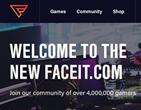 Faceit.com - Unsolicited Redesign