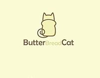 Butter Bread Cat Logo