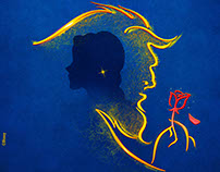 Beauty and the Beast Broadway Posters