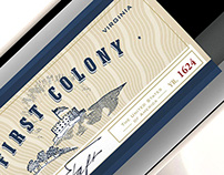 First Colony Wine Packaging