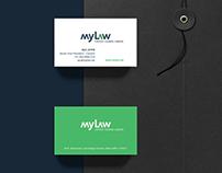 mylaw - Corporate Identity