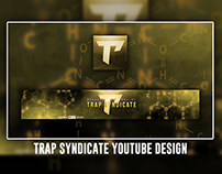 Trap Syndicate Youtube Banner & AI