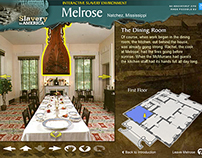 Flash Web App: Melrose Interactive Slavery Environment
