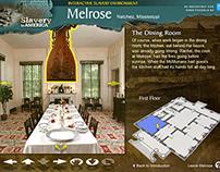 Flash Web App: Melrose Interactive Slavery Environment
